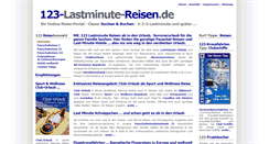 Preview of 123-lastminutereisen.de